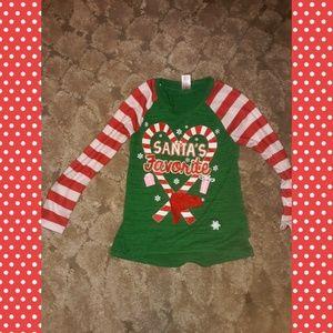 Size 7/8 girls holiday shirt